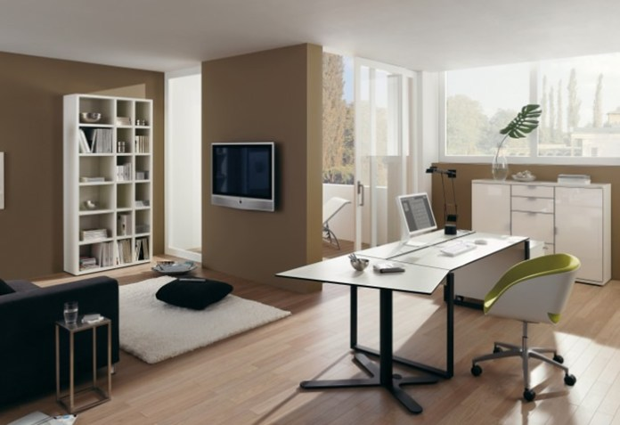 Contemporary Home Office Furniture Design On Better Home Design