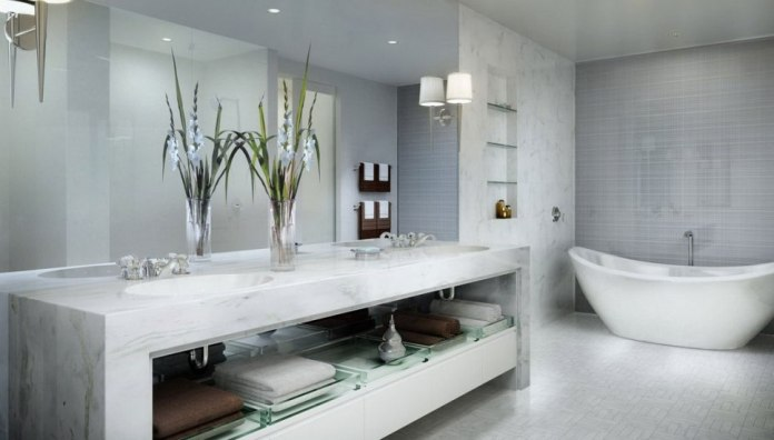 Contemporary Modern Luxury Bathroom