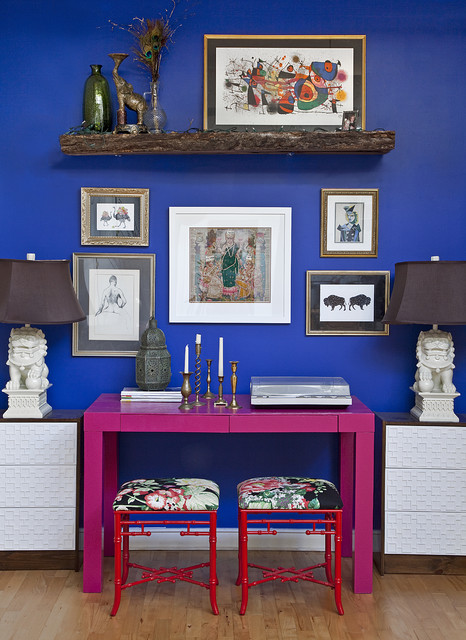 House eclectic-home-office