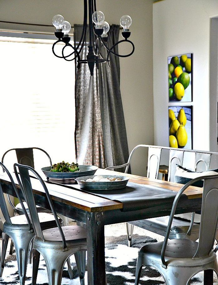 Industrial-Dining-Room-Decor