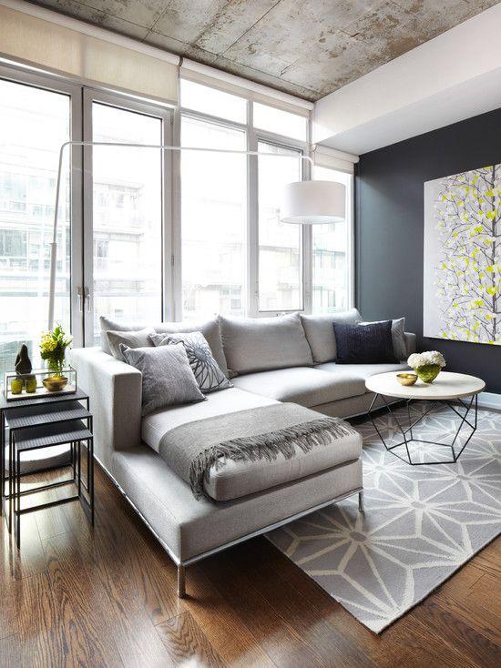 Modern Living Room Contemporary Hardwood Floors Design