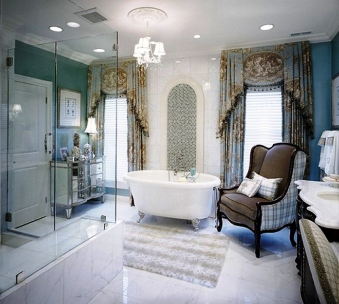 Modern Luxury Eclectic Bathroom Decor Ideas