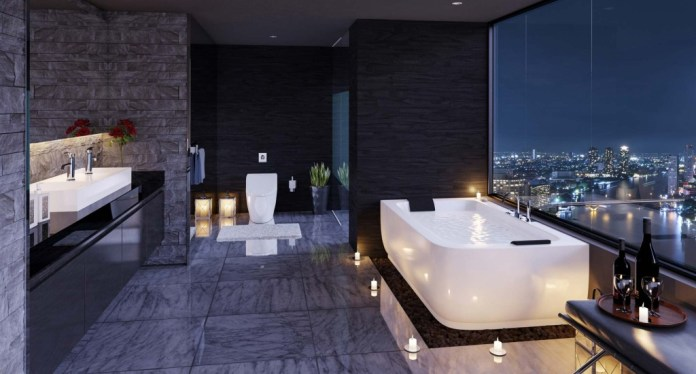 Urban-bathroom-Modern-white-bathroom