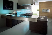 Simple And Practical Modern Kitchen Design