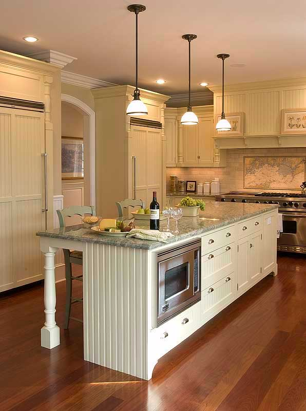 The counter top used was a speckled gray and black solid surface material. 30 Attractive Kitchen Island Designs For Remodeling Your Kitchen