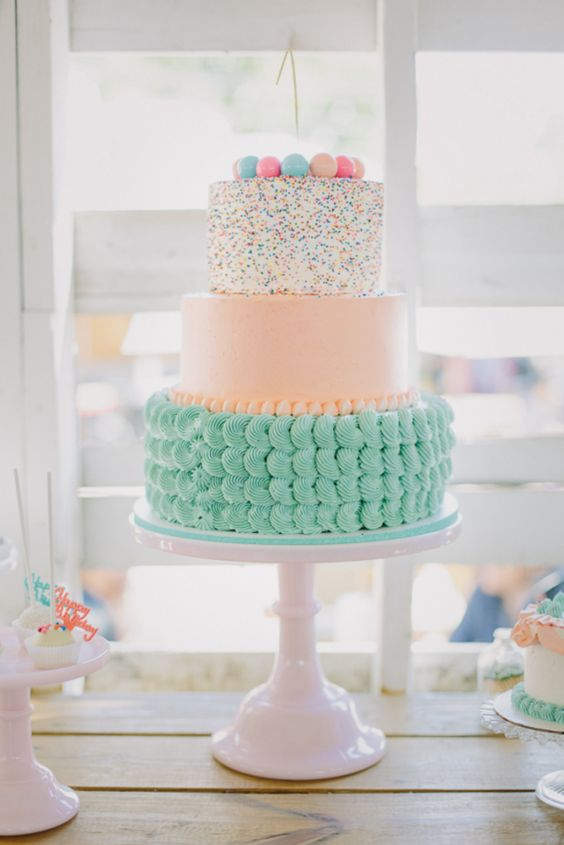 Baby Shower Cake Ideas for Spring