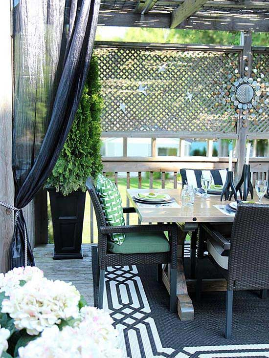 Make Your Small Outdoor Space Look Deceptively Large