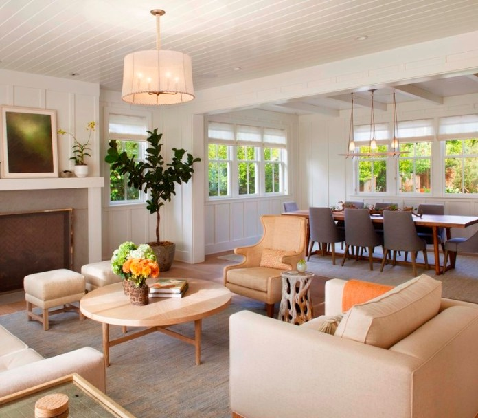 Modern Farmhouse Living room farmhouse-living-room
