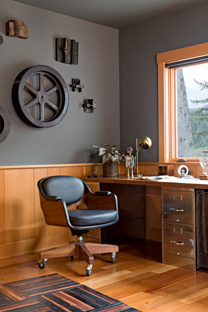 Phenomenal Industrial Home Office Design Ideas