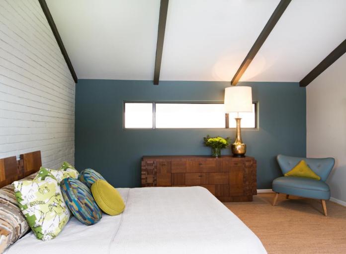 Remodeled Midcentury Modern Master Bedroom