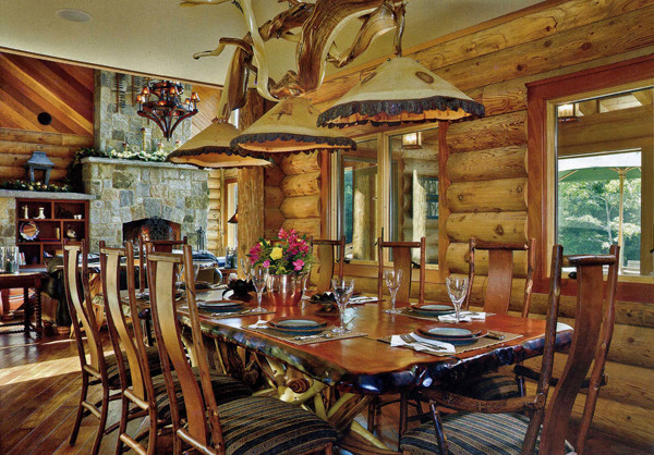 Rustic Dining Table eclectic-dining-room