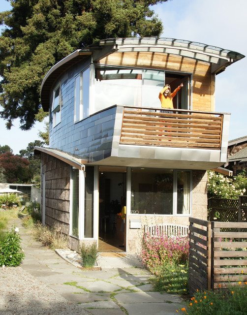 Unusually Cool Eclectic Home Exterior Designs
