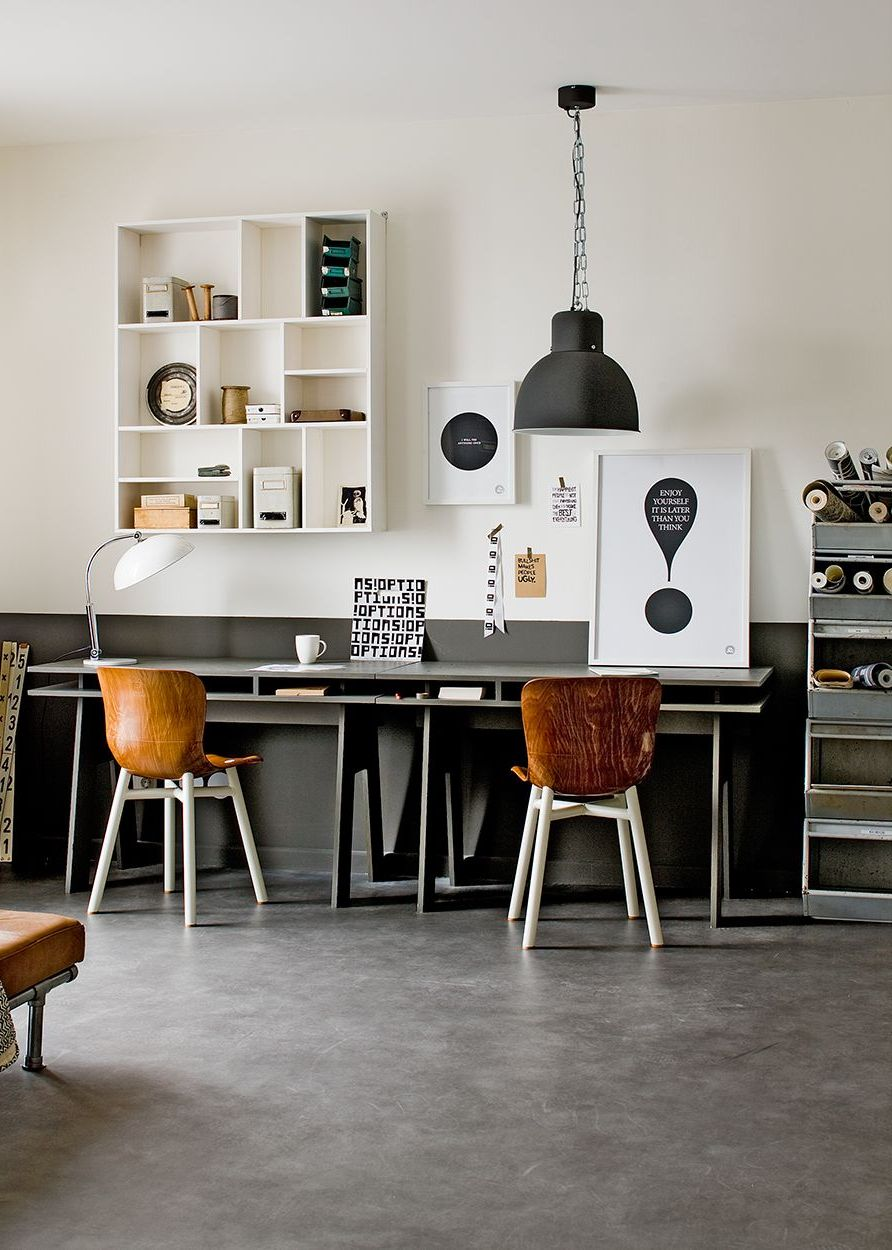 Industrial Home Office Design Ideas