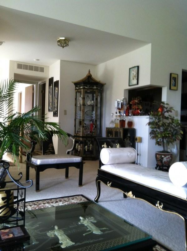 Asian-inspired Living Room Ideas