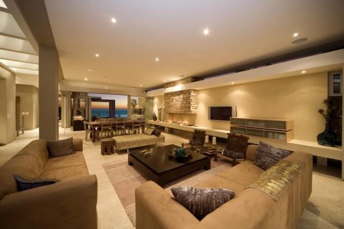 Large sea facing living room