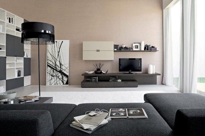 Contemporary Modern Rustic Living Room