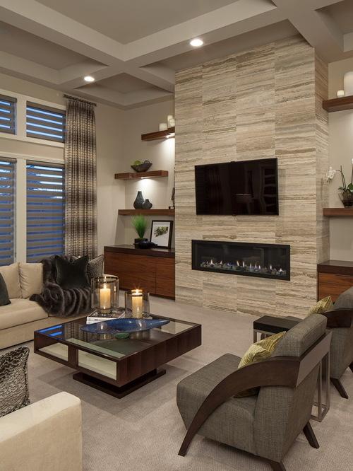 Small Contemporary Living Room