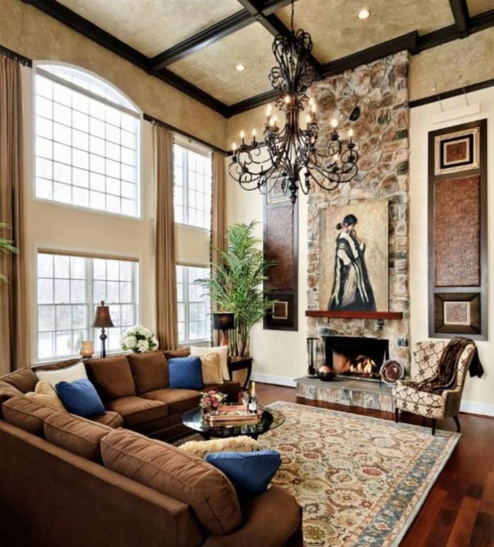 Tuscan Living Room Ideas (7)