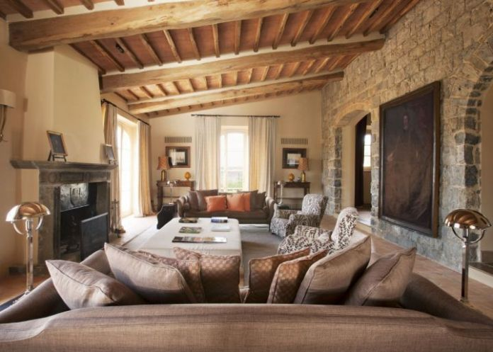 Tuscan Living Room Ideas (9)