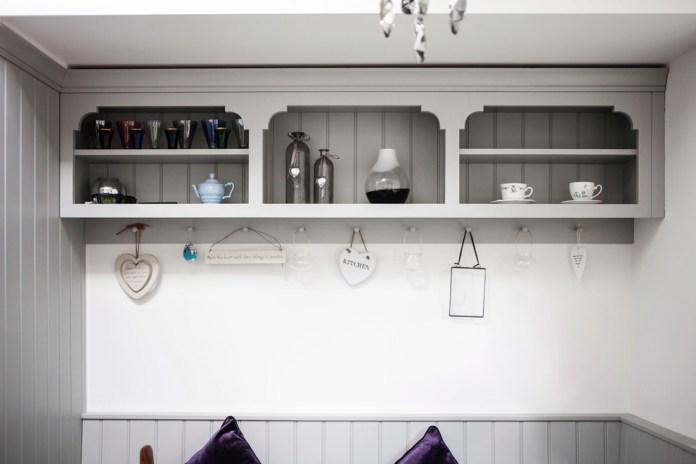 Beautiful Kitchen Shelves