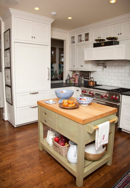 small kitchen with island design ideas 31 Creative Small Kitchen Design Ideas