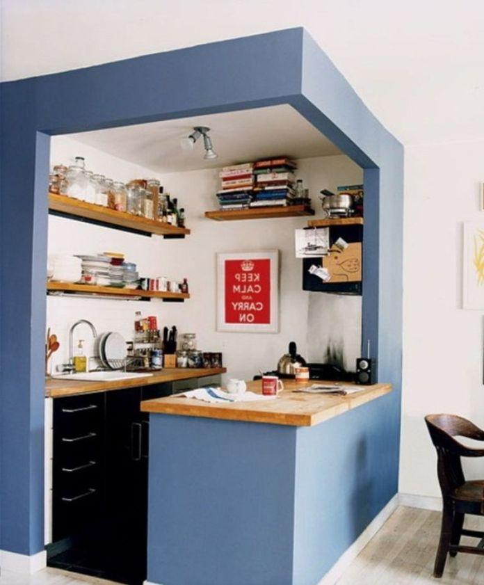 Creative Small Kitchen Design Ideas (21)