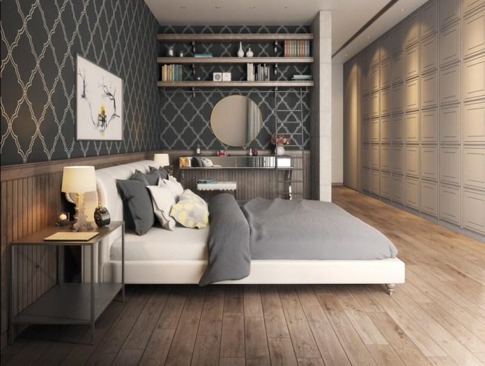 Dark Grey Design Wallpaper
