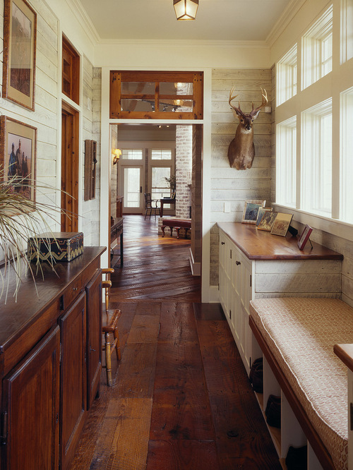 Farmhouse Hallway Design