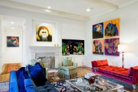 20 Stunning Living Rooms With Artwork