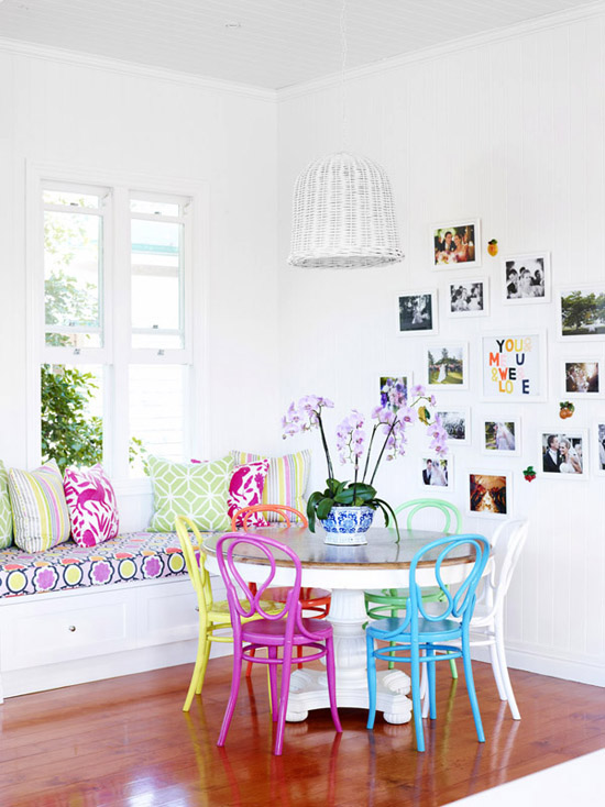 Stunning Colorful Dining Room (18)