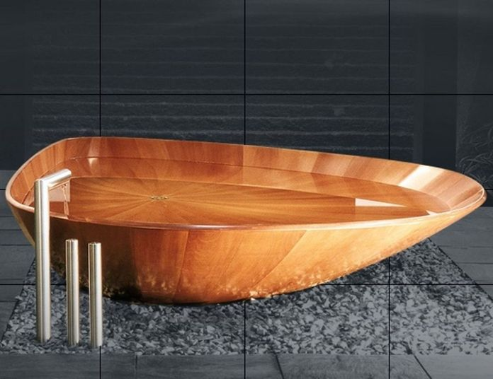 Amazing Bathrooms With Wooden Bathtub (20)