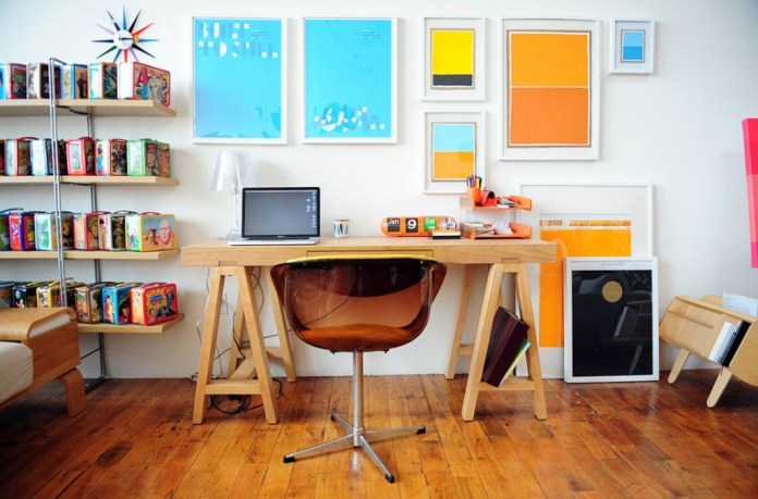 Beautiful Wooden Home Office