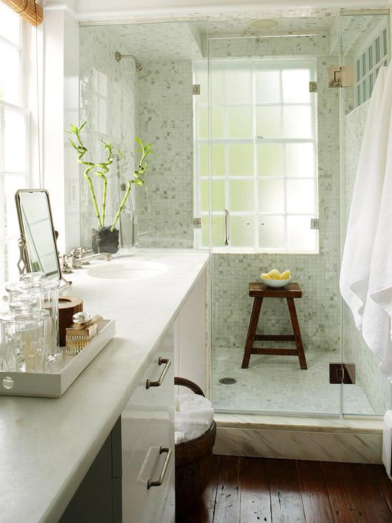Frameless Modern Glass Shower