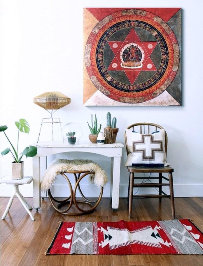 Asian Family Room Design