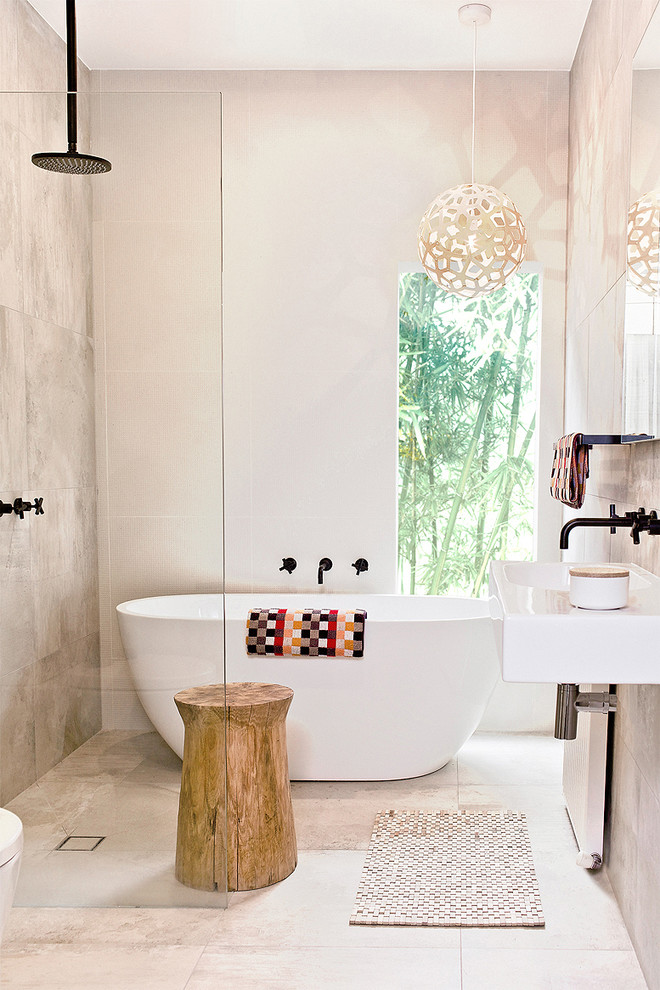 contemporary-walk-in-shower