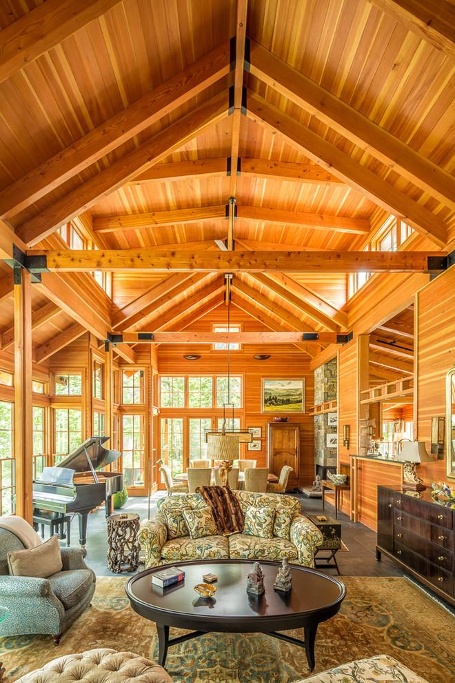 craftsman-living-room-design