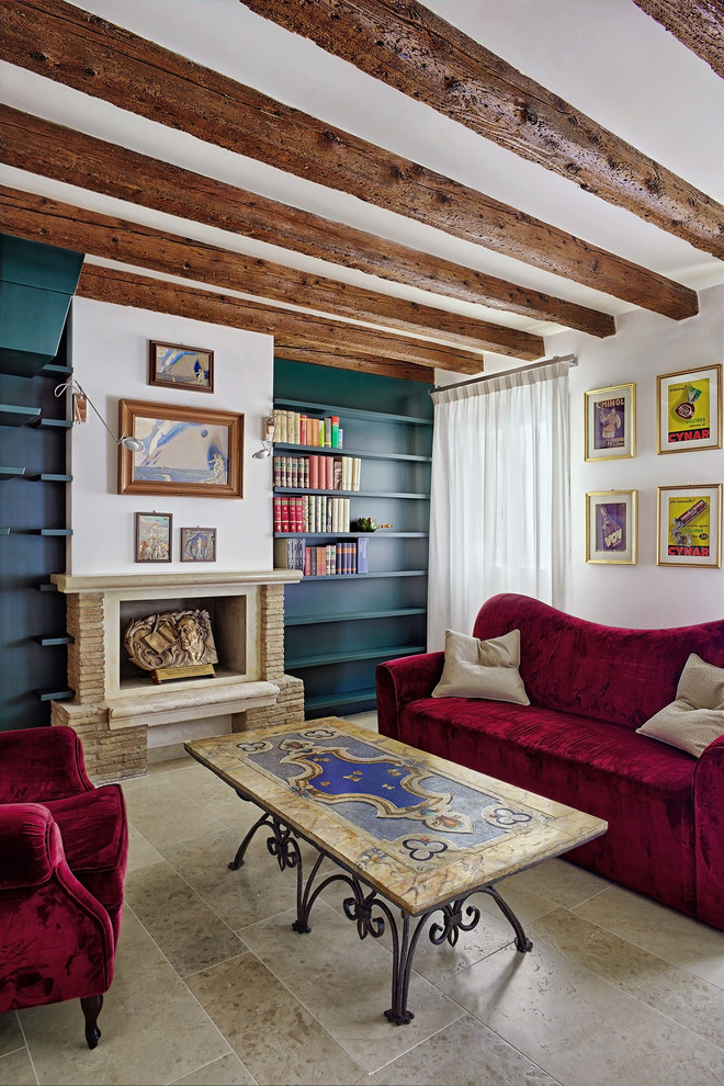 Eclectic Family Room Design
