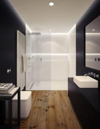 15 Stunning Bathroom With Hardwood Flooring