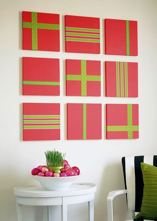 christmas-wrapped-frames-decoration