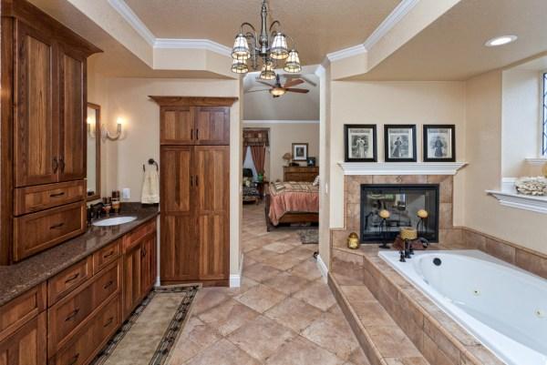 rustic master bathroom 15 Beautiful Master Bathrooms