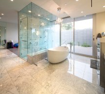Mid Century Modern Bathroom Shower