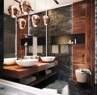15 Stunning Masculine Bathroom Design Ideas