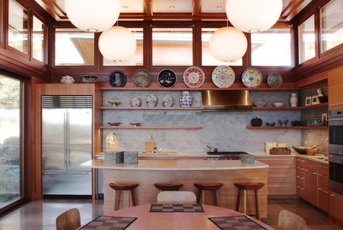 Asian L-Shaped Kitchen