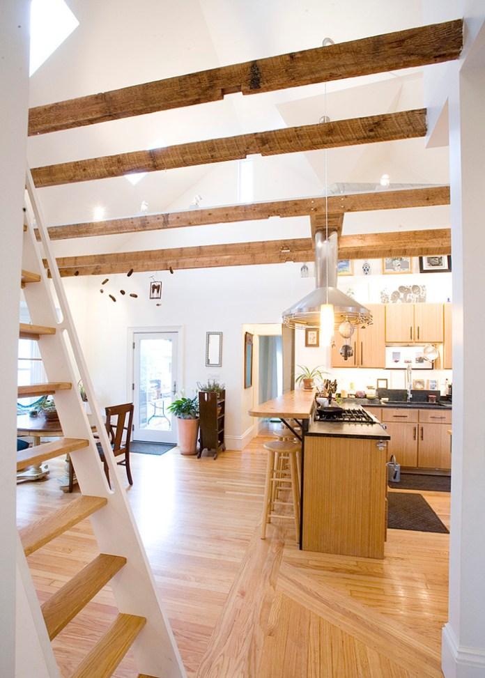 Attic Farmhouse Kitchen
