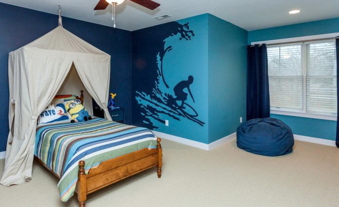 Craftsman Kids Bedroom Design