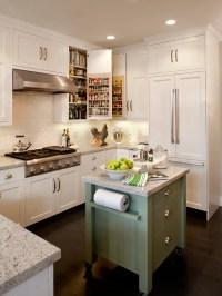 15 Stunning Small Kitchen Island Design Ideas