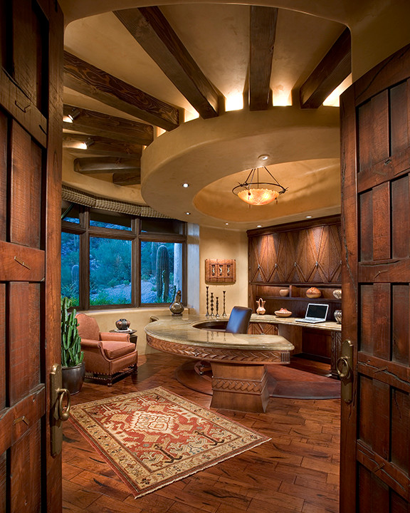 Large Southwestern Home Office