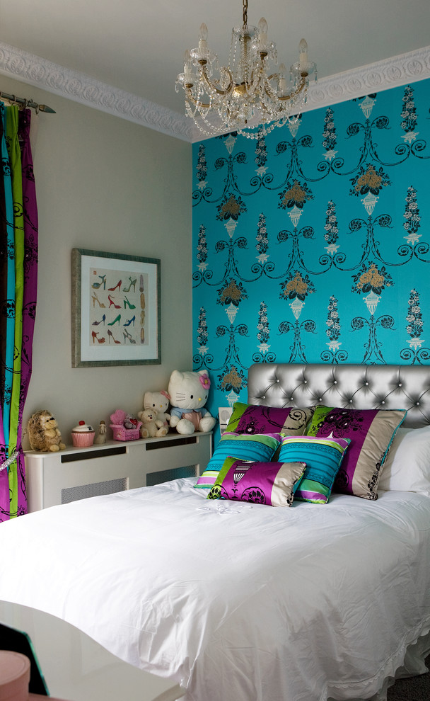 Victorian Colorful Kids Bedroom