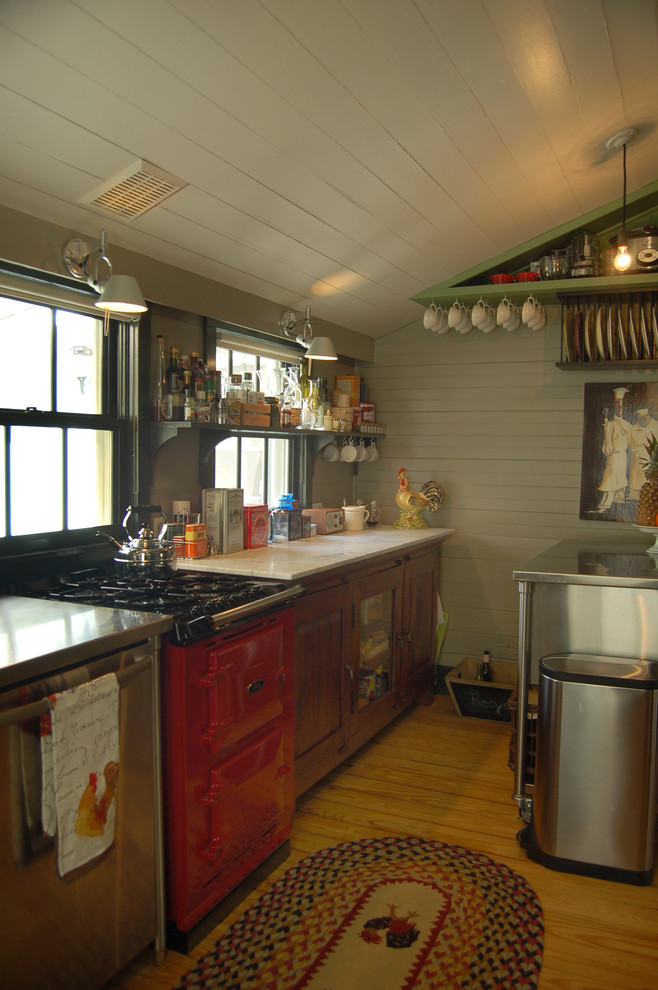Attic Rustic Kitchen Design
