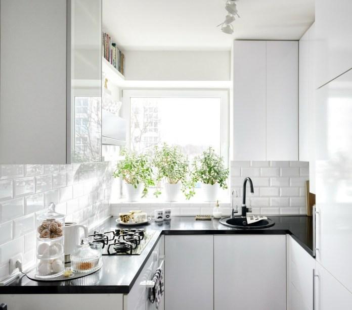 Scandinavian Small Kitchen Design